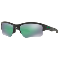 Oakley Quarter Jacket Sunglasses - Grade School - Black / Green