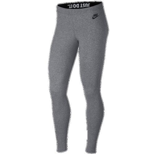 Nike Leg-A-See JDI Leggings - Women's - Casual - Clothing - Carbon Heather
