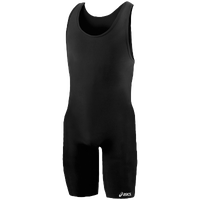 ASICS® Solid Modified Singlet - Men's - All Black / Black