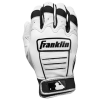 Franklin CFX Pro Batting Gloves - Men's - White / Black