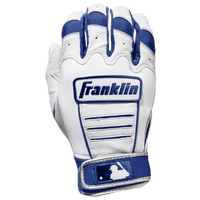 Franklin CFX Pro Batting Gloves - Men's - White / Blue