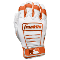 Franklin CFX Pro Batting Gloves - Men's - White / Orange