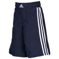 adidas Youth Grappling Shorts - Boys' Grade School - Navy