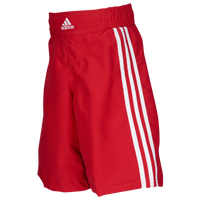 adidas Youth Grappling Shorts - Boys' Grade School - Red