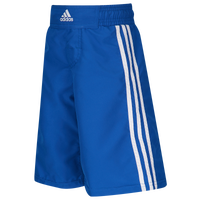 adidas Youth Grappling Shorts - Boys' Grade School - Blue