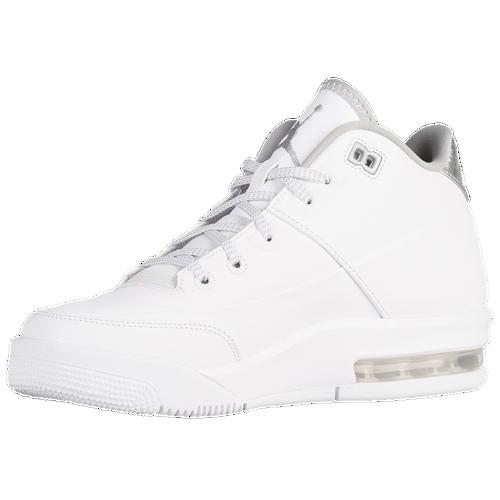Nike Origine De Vol Air Jordan 3 Garçons Blancs