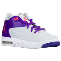 Jordan Flight Origin 3 - Girls' Grade School - Grey / Orange