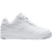 fffe0d4fc Nike Air Force 1 Low Flyknit - Women's - All White / White