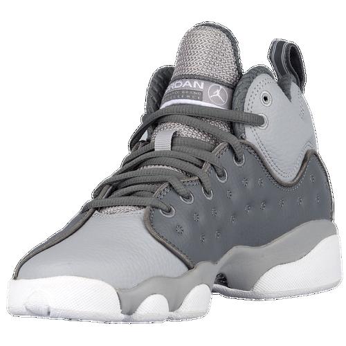 Jordan Jumpman Team II - Boys' Grade School - Basketball - Shoes - Cool  Grey/Wolf Grey/White