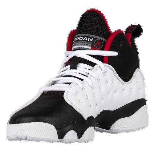 jordan jumpman team 2. jordan jumpman team ii - boys\u0027 grade school basketball shoes white/varsity red/black 2