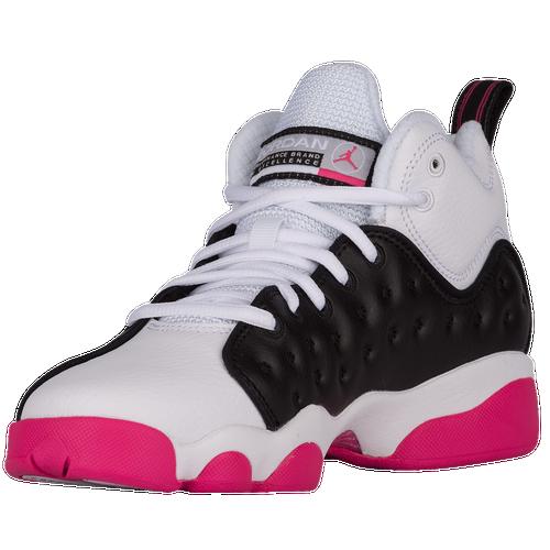 ... Jordan Jumpman Team II - Girls  Grade School - Basketball - Shoes -  Black  ... 2edc8c1e47999