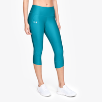 Under Armour Armour Fly Fast Capris - Women's - Light Blue