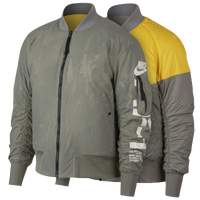 40a9984e2f1d Nike Reversible AF1 Woven Jacket - Men s - Olive Green   Yellow
