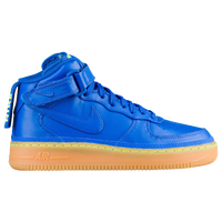 factory price 86810 7af7e Nike Air Force 1 Mid - Boys  Grade School - Blue   Tan