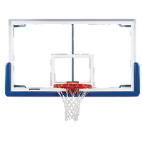 Porter Pro Strut Rectangular Glass Backboard