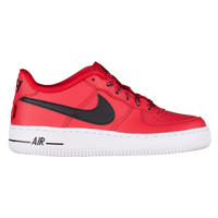 big sale 548e8 97379 Nike Air Force 1 Low - Boys  Grade School - Red   White