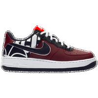 9689c5d26 Nike Air Force 1 Low - Boys  Grade School - Maroon   Black