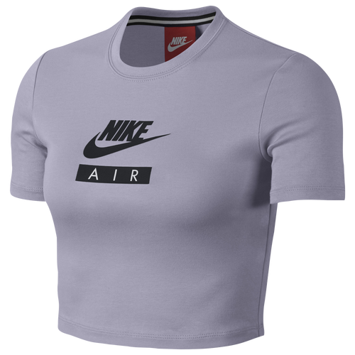 Nike Baby Air T-Shirt - Women's Casual - Barely Grape 20447509