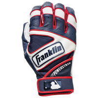 Franklin Powerstrap Batting Gloves - Men's - Navy