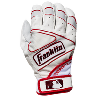 Franklin Powerstrap Batting Gloves - Men's - White