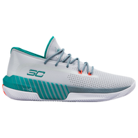 Under Armour SC 3Zero III - Boys' Grade School -  Stephen Curry - White / Aqua