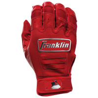 Franklin CFX Pro Chrome Batting Gloves - Men's - Red / Silver