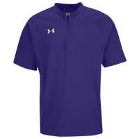 Under Armour Cage Jacket SS - Men's - Purple