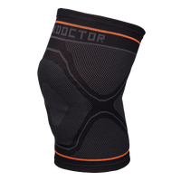 Shock Doctor Knee Sleeve W/Gel Support - Grey / Pink