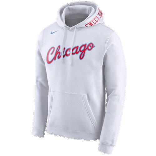 nike nba club logo hoodie men 39 s clothing chicago. Black Bedroom Furniture Sets. Home Design Ideas