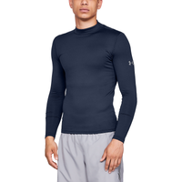 Under Armour CG Armour Compression Fitted Mock - Men's - Navy