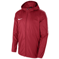Nike Team Dry Park Jacket - Men's - Red / White