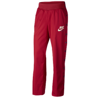 Nike Archive Snap Pants - Women's - Red / Navy