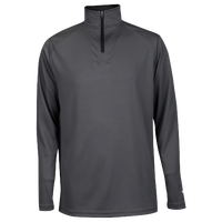 Badger Sportswear Team B-Core 1/4 Zip - Boys' Grade School - Grey / Black