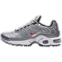 separation shoes 2ad42 f6e0f Nike Air Max Plus - Boys  Grade School - Silver   Red
