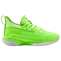 Under Armour Curry 7 - Boys' Grade School -  Stephen Curry - Light Green