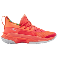 Under Armour Curry 7 - Boys' Grade School -  Stephen Curry - Pink