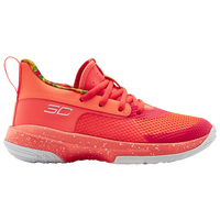 Under Armour Curry 7 - Boys' Preschool -  Stephen Curry - Pink