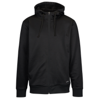 Eastbay Team Performance Fleece Full Zip Hoodie - Men's - All Black / Black