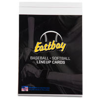 Eastbay Baseball/Softball Game Line Up Cards