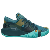Under Armour Spawn Low - Men's - Aqua / Dark Green