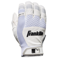 Franklin X-Vent Pro Shok Batting Gloves - Men's - Off-White / White
