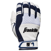 Franklin X-Vent Pro Shok Batting Gloves - Men's - Off-White / Navy