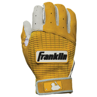 Franklin Pro Classic Batting Gloves - Men's - Gold / White