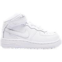 Nike Air Toutes Les Forces De Milieu Haut Blanc 1s