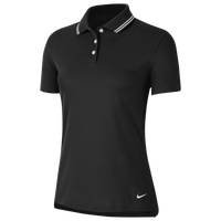 Nike Dry Victory Solid Golf Polo - Women's - Black