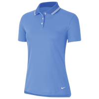 Nike Dry Victory Solid Golf Polo - Women's - Light Blue