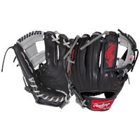 Rawlings Heart of the Hide Fielder's Glove - Black / Silver