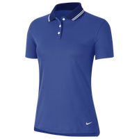 Nike Dry Victory Solid Golf Polo - Women's - Blue