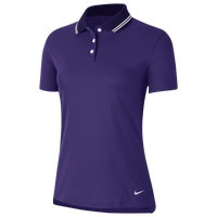 Nike Dry Victory Solid Golf Polo - Women's - Purple