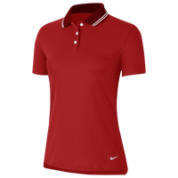 Nike Dry Victory Solid Golf Polo - Women's - Red